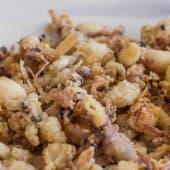Chopitos Fritos Con Pimientos Del Padrón