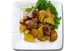 Картопля по-домашньому зі свининою (250г)