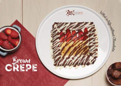 Brown Crepe