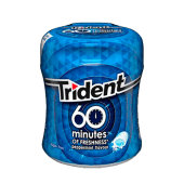 Trident 60 Minutes Peppermint  (82.6 g.)