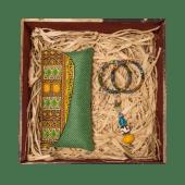 Kitenge Green Gift Box