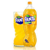 Fanta Naranja botella 1L.