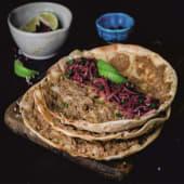Lahmacun falafel
