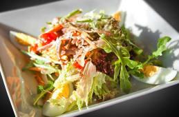 Зелений салат з рукколою й язиком (250г)