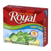 Royal Gelatine Lime Sugar Free