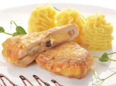 Курча з лісовими грибами та сиром (130/100г)