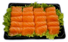 T8-12. Sashimi de Salmão