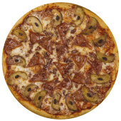 Pizza canadiense (mediana)