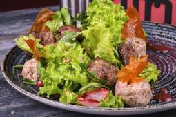 Салат Тбілісурі з курячої печінки (200г)