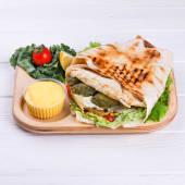 Lavash Burger з телятиною (400г)
