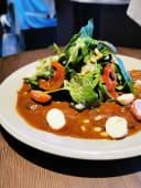 Имбирный салат с телятиной