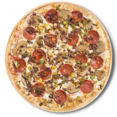 Pizza deluxe (familar)