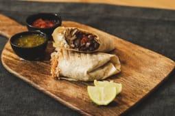 Burrito Vegetariano de Shitakes