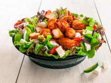 Salata cu pui crispy