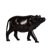 Buffalo Ebony Wooden Sculpture