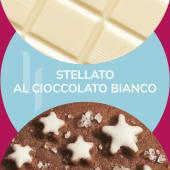 Barattolino ''Stellato al cioccolato bianco'' 500 gr
