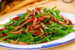 Тонко нарезанная говядина с овощами