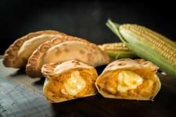 Empanada de Humita y Mozzarella