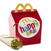 Happy Meal® Snack Wrap Chicken Mayo
