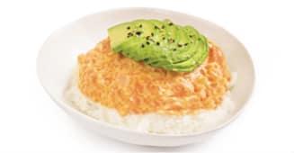 Tartare saumon spicy mayo avocat
