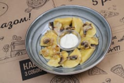 Варенички з картоплею та грибами (200г)