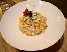 Rižoto bundeva, gorgonzola i pršuta