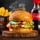 Hamburguesa  Inka Vegetariana