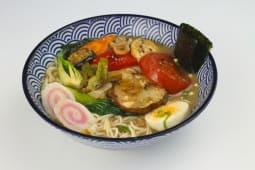 Miso ramen vegetal