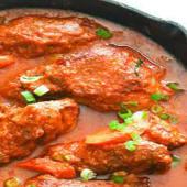 Boneless chicken stew