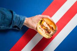 Burger double bacon