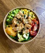 Buddha Bowl con pollo vegano