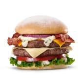 Hamburguesa de 3 quesos sola