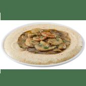 Hummus champiñones