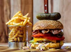 Meal Deal Wild Boar Burger