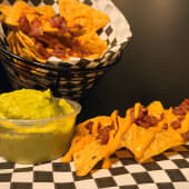Nachos bacon & cheese