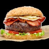 Foster's Caesar burger