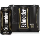 Sixpack Schneider Negra Lata 473 Ml