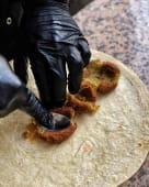 Falafel w lawaszu