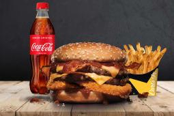 Menú GR Double Western Bacon Cheeseburger.