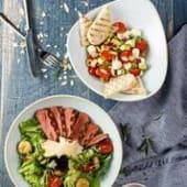 Теплий салат з телятиною на грилі (270г)