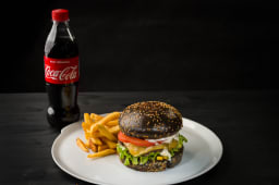 Meniu Spicy Burger + 1 bautura la alegere