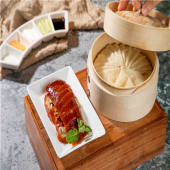 Pato al horno (estilo beijing)