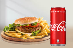 Menù Hamburger + Coca-Cola