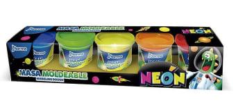 Masa Para Moldear 142Grs Neon Varios Colores 552523