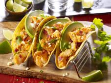 Tequila lime shrimp tacos 220g