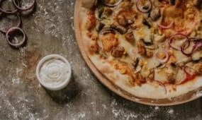Pizza Pollo 42cm