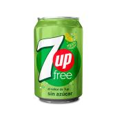 7 Up free en lata (354 ml.)