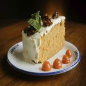 Tarta de zanahoria y nuez