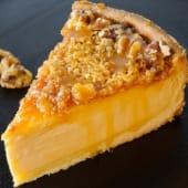 Cheesecake pecan praline