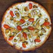 Піца Ді Маре з морепродуктами (30см)